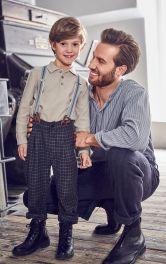 Детские брюки с подтяжками Burdastyle фото 1