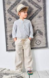 Детские брюки на кулиске Burdastyle
