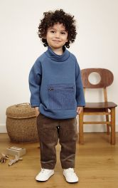 Детские вельветовые брюки Burdastyle фото 1