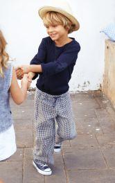 Дитячі лляні брюки Burdastyle