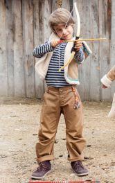Дитячі брюки спортивного крою Burdastyle