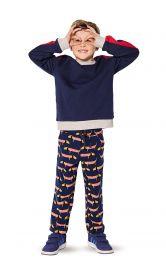 Дитячі трикотажні брюки Burdastyle