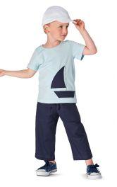 Дитячі брюки прямого крою Burdastyle