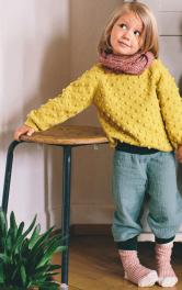 Дитячі брюки на манжетах Burdastyle