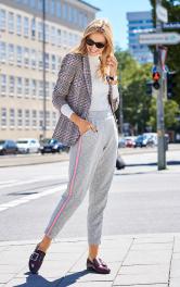 Жіноча трикотажні брюки Burdastyle