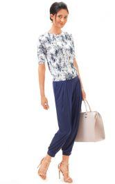 Жіночі трикотажні брюки Burdastyle