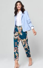 Жіночі атласні брюки Burdastyle