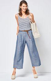 Жіночі брюки капрі Burdastyle