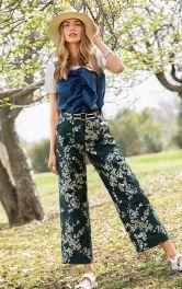 Жіночі брюки карго Burdastyle