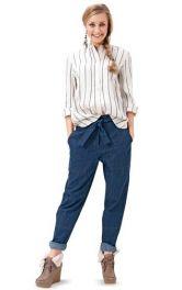 Жіночі джинси в стилі бойфренд Burdastyle