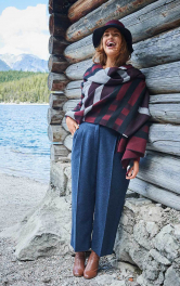 Жіночі брюки класичного крою Burdastyle