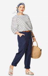 Жіночі лляні брюки Burdastyle