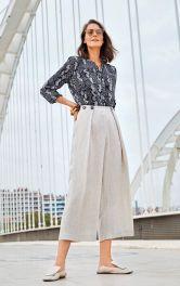 Женские льняные брюки Burdastyle фото 1