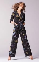 Жіночі брюки в піжамному стилі Burdastyle