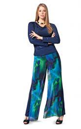 Жіночі брюки широкого крою Burdastyle