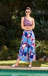Жіночі брюки палаццо Burdastyle