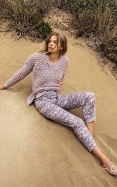 Жіночі брюки довжиною 7/8 Burdastyle