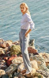 Женские брюки марлен Burdastyle
