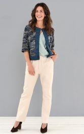 Женские джинсы зауженного кроя Burdastyle