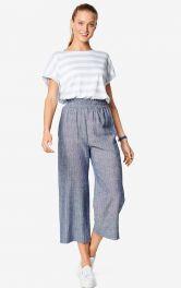 Женские брюки кюлоты Burdastyle