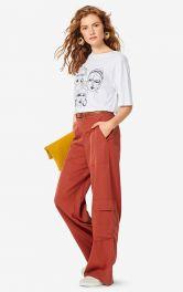 Женские брюки прямого кроя Burdastyle фото 1