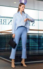 Жіночі брюки розкльошеного крою Burdastyle