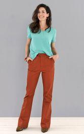 Женские джинсы расклешенного кроя Burdastyle