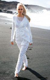 Жіночі брюки шальвари Burdastyle