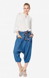 Жіночі брюки-шальвари Burdastyle