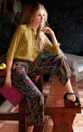 Жіночі широкі брюки 7/8 Burdastyle