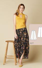 Женские брюки оригинального кроя Burdastyle фото 1