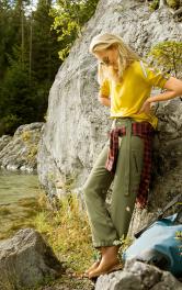 Жіночі брюки спортивного крою Burdastyle