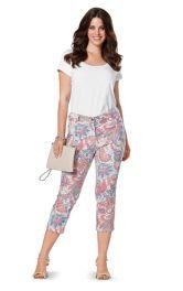 Жіночі брюки в джинсовому стилі Burdastyle