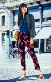 Жіночі брюки вузького крою Burdastyle