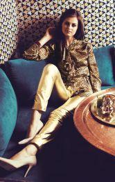 Жіночі шкіряні брюки Burdastyle