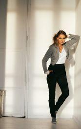 Жіночі брюки з високою талією Burdastyle