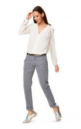 Жіночі брюки у джинсовому стилі Burdastyle