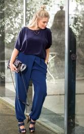 Жіночі брюки із запахом Burdastyle
