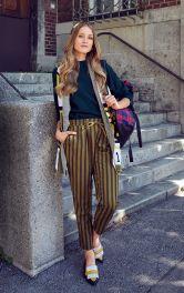Жіночі брюки-джогери Burdastyle
