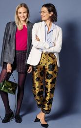 Жіночі жакардові брюки Burdastyle