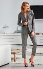 Жіночі брюки зі складками Burdastyle