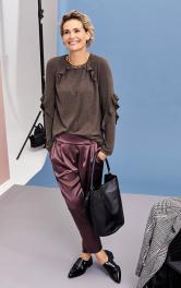 Жіночі брюки завуженого крою Burdastyle