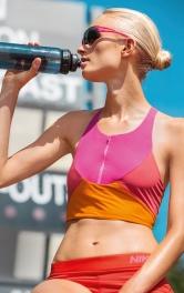 Жіночий спортивний топ-бюстьє Burdastyle