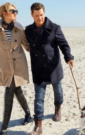 Чоловіче пальто-бушлат Burdastyle