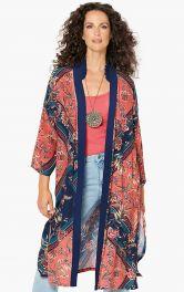Женское длинное кимоно Burdastyle