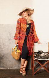 Жіноча блуза-жакет Burdastyle