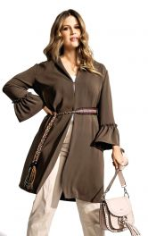 Жіноча блуза з оборками Burdastyle