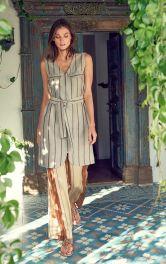 Жіноча сукня-жилет Burdastyle