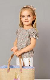 Дитяча футболка з рукавами-ліхтариками Burdastyle