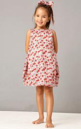 Дитяча сукня силуету балон Burdastyle